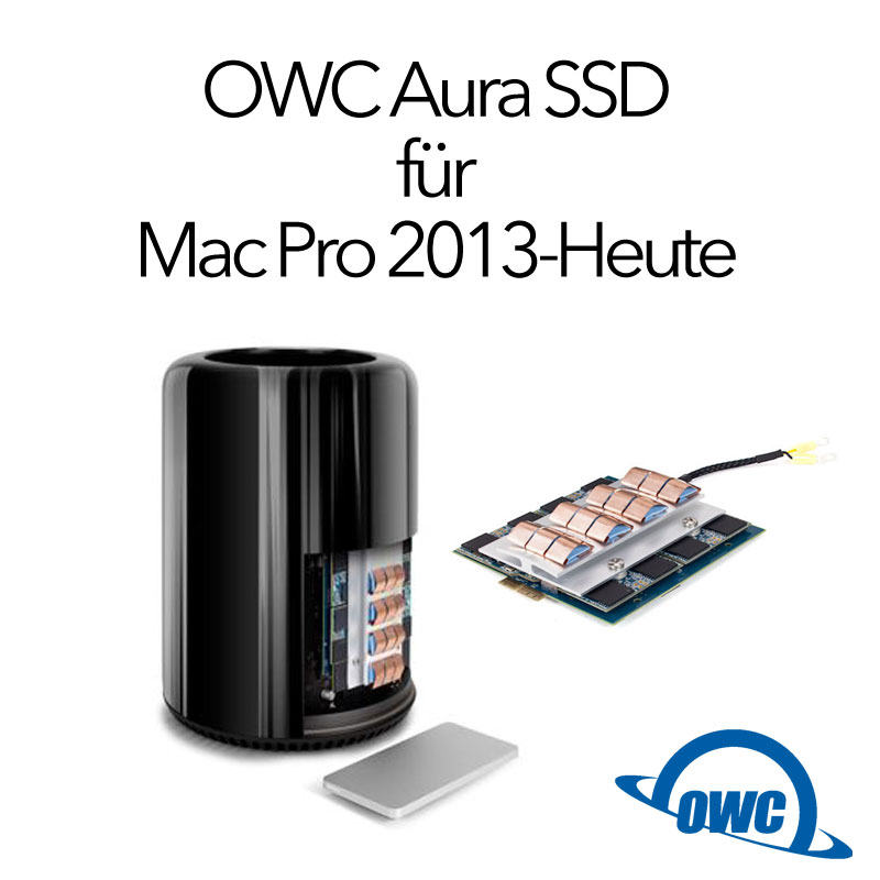 owc 1tb 2 tb 4 0tb aura ssd f r apple mac pro 2013. Black Bedroom Furniture Sets. Home Design Ideas