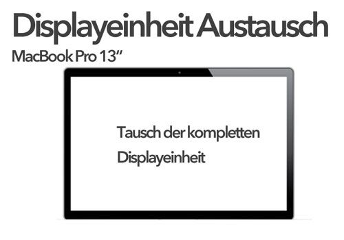 A1278 LCD Display Assembly Austausch MacBook Pro 13""