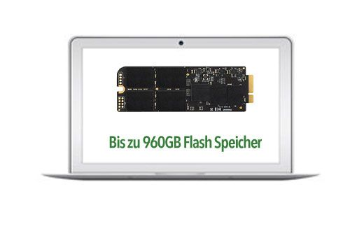 MacBook Air Mid 2012 SSD Aufrüstung 240GB-960GB A1466/A1465 Transcend JetDrive
