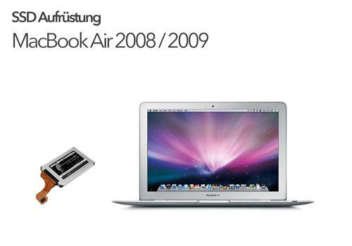 SSD Aufrüstung MacBook Air a1304 2008 2009
