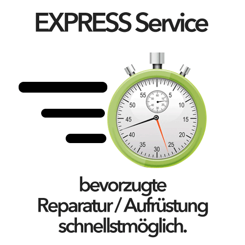 EXPRESS Service Mac Reparatur / Aufrüstung Option