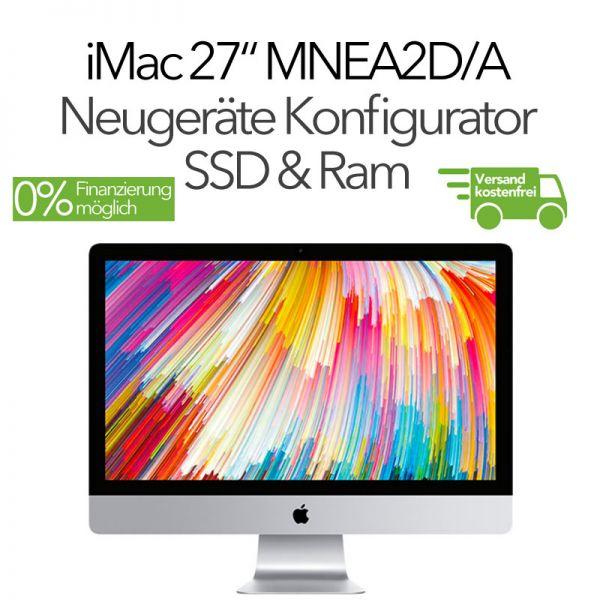 "2018 iMac 27"" Retina 5K MNEA2D/A, 1TB Fusion, 8GB, Radeon 575 Pro SAMSUNG SSD & Ram Konfigurator"