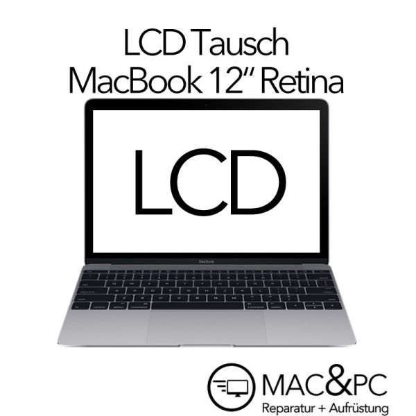 lcd display austausch reparatur macbook 12 a1534 mf855 mf865 mlh mac pc. Black Bedroom Furniture Sets. Home Design Ideas